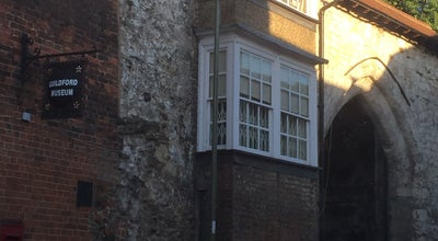 Photo of History Museum Guildford Museum at Castle Arch, Guildford GU2 3SX, United Kingdom