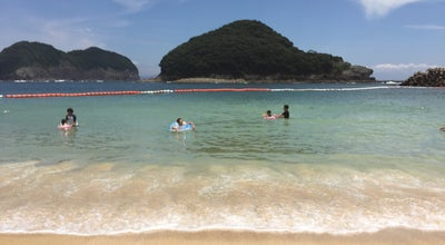 Photo of Beach 結の浜マリンパーク at 諫早市, Japan