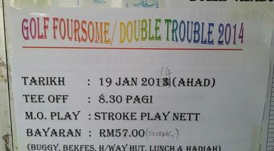 Photo of Golf Course Club House Golf Tentera Darat at Kuantan, Malaysia