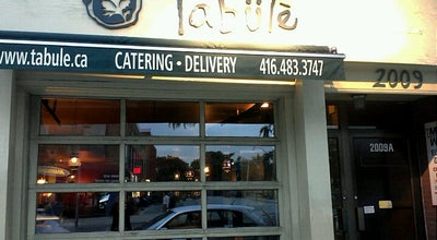 Photo of Middle Eastern Restaurant Tabule at 2009 Yonge Street, Toronto, ON M4S 1Z8, Canada
