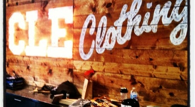 Photo of Clothing Store CLE Clothing Co at 342 Euclid Ave, Cleveland, OH 44114, United States