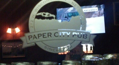 Photo of Bar Paper City Pub at 212 W Wisconsin Ave, Neenah, WI 54956, United States