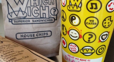 Photo of Sandwich Place Which Wich Superior Sandwiches at Mccain, North Little Rock, AR 72116, United States