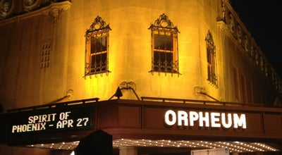 Photo of Theater Orpheum Theater at 203 W Adams St, Phoenix, AZ 85003, United States