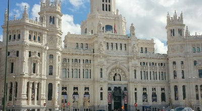 Photo of City Hall Ayuntamiento de Madrid at Plaza Cibeles, Madrid 28014, Spain