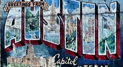 Photo of Historic Site Greetings from Austin Mural at Annie, Austin, TX 78704, United States