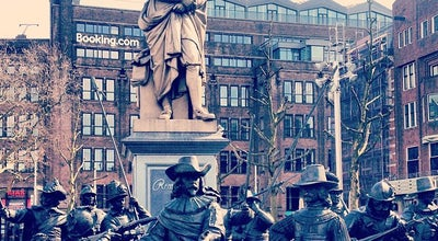 Photo of Plaza Rembrandtplein at Rembrandtplein, Amsterdam 1017, Netherlands