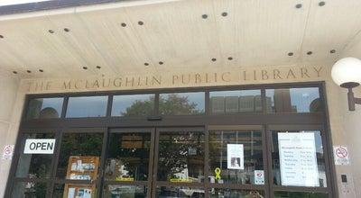 Photo of Library Oshawa Public Libraries - McLaughlin  branch at 65 Bagot St, Oshawa, On L1H, Canada