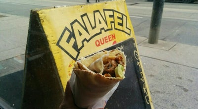 Photo of Middle Eastern Restaurant Falafel Queen at 576 Queen Street West, Toronto, ON, Canada