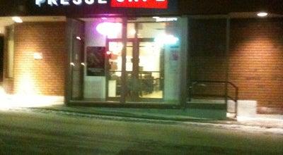 Photo of Coffee Shop Presse Cafe at 180 Hébert Blvd., Edmundston, NB E3V 2S7, Canada