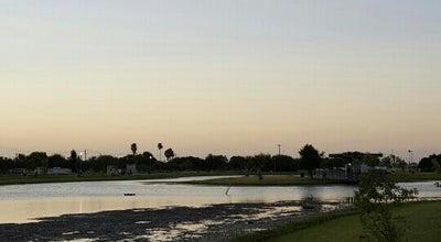 Photo of Lake Town Lake at Fireman's Park at McAllen, TX 78501, United States