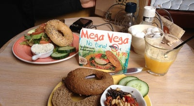 Photo of Bagel Shop Bagels & Beans at Markt 61, Delft 2611 GS, Netherlands
