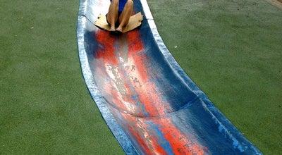Photo of Playground Frick Park Blue Slide Playground at 2005 Beechwood Blvd, Pittsburgh, PA 15217, United States