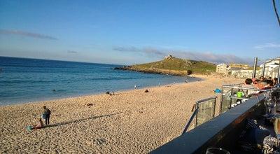 Photo of Cafe Porthmeor Beach Café Bar & Surf School at Porthmeor Beach, St Ives TR26 1JZ, United Kingdom