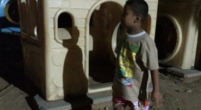 Photo of Playground สนามเด็กเล่นหน้าแสงเจริญ at Si Sa Ket, Thailand