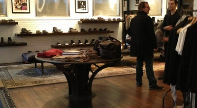 Photo of Clothing Store John Varvatos at 122 Spring St, New York, NY 10012, United States