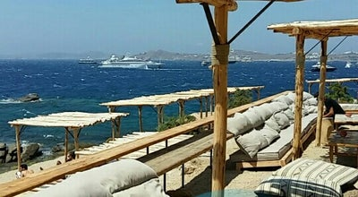 Photo of Beach Bar Scorpios Mykonos at Παράγκα, Mykonos, South Aegean 846 00, Greece