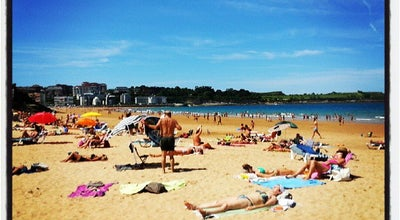 Photo of Beach Playas del Sardinero at Av. De La Reina Victoria, Santander 39005, Spain