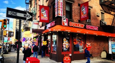 Photo of Coffee Shop Dunkin' Donuts at 381 Canal St, New York, NY 10013, United States