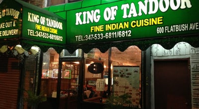 Photo of Indian Restaurant King of Tandoor at 600 Flatbush Ave, Brooklyn, NY 11225, United States