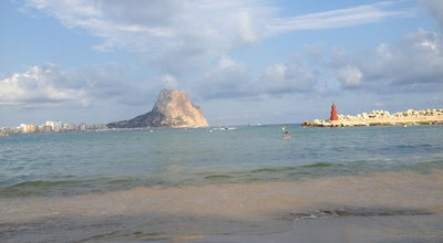 Photo of Beach Playa Puerto Blanco at Urb. Canuta Baja, Calpe 03710, Spain
