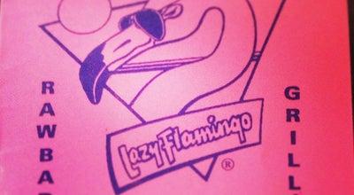 Photo of Seafood Restaurant The Lazy Flamingo at 1036 Periwinkle Way, Sanibel, FL 33957, United States
