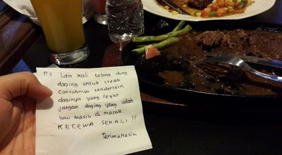 Photo of Steakhouse K. Viesta Cafe at Jl. Siliwangi No. 81, Sukabumi 43113, Indonesia