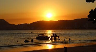 Photo of Beach Praia Costão das Tartarugas at Guarujá, Brazil