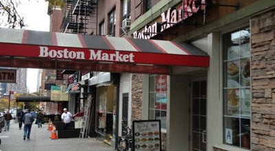 Photo of American Restaurant Boston Market at 885 10th Ave, New York City, NY 10019, United States