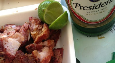 Photo of BBQ Joint Chicharon Light Jose Contreras at Cayetano Germosen, Santo Domingo, Dominican Republic