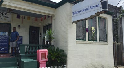 Photo of History Museum Backstreet Cultural Museum at 1116 Henriette Delille St, New Orleans, LA 70116, United States