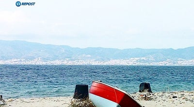 Photo of Beach Spiaggia di Catona at Lungomare Di Catona, Reggio Calabria, Italy