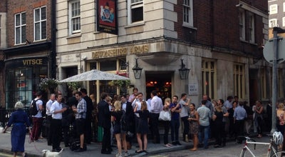 Photo of Bar The Devonshire Arms at 7 Duke Street, London W1U 3EE, United Kingdom