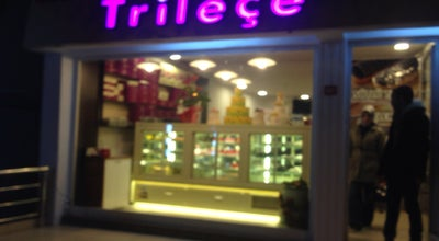 Photo of Dessert Shop HB Trileçe at Cengiz Topel Cad., Büyükçekmece, Turkey