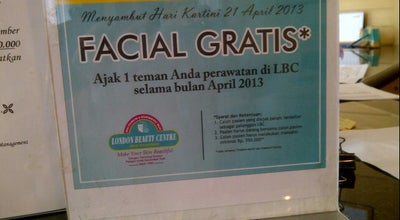 Photo of Spa LBC Facial and Body Therapy at Surakarta, Indonesia