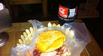 Photo of Burger Joint Hamburguesas Papanoa at Av. Camelinaa, Morelia, MICH, Mexico