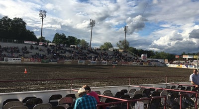 Photo of Racetrack Redding Rodeo Grounds at 715 Auditorium Dr, Redding, CA 96001, United States