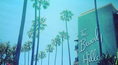 Photo of Hotel Beverly Hills Hotel at 9641 Sunset Blvd, Beverly Hills, CA 90210, United States