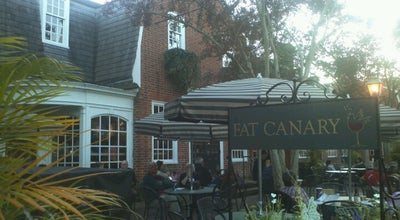 Photo of New American Restaurant The Fat Canary at 410 W Duke Of Gloucester St, Williamsburg, VA 23185, United States