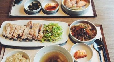 Photo of Korean Restaurant 일호식 (1好食) at 용산구 한남대로20길 21-18, 서울 140-886, South Korea