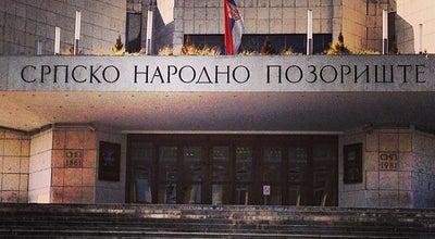 Photo of Theater Srpsko narodno pozorište at Pozorišni Trg, Novi Sad 21000, Serbia