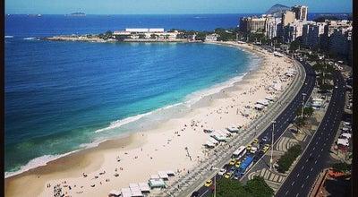 Photo of Beach Praia de Copacabana at Av. Atlântica, Rio de Janeiro 22021-040, Brazil