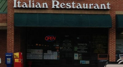 Photo of Italian Restaurant Pino's Italian Restaurant at 901 South Beckford Dr, Henderson, NC 27536, United States