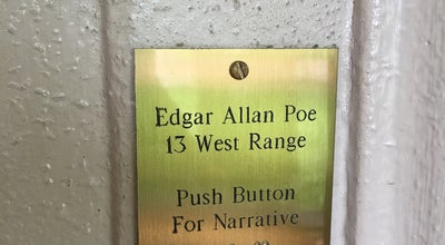Photo of Historic Site Edgar Allan Poe's Dorm at Charlottesville, VA 22903, United States