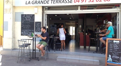 Photo of French Restaurant Bar de la Grande Terrasse at 108 Corniche Pdt J F Kennedy, Marseille 13007, France