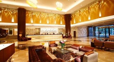 Photo of Hotel 广州中心皇冠假日酒店 Crown Plaza Guangzhou City Centre at 339 Huanshi Road East, Guangzhou, Gu 510098, China