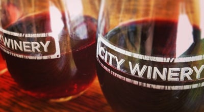 Photo of Wine Bar City Winery at 143 Varick St, New York, NY 10013, United States