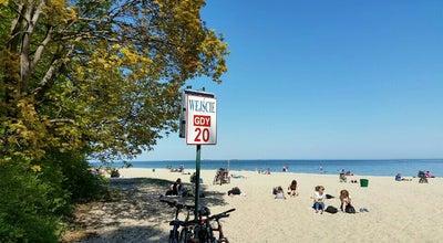 Photo of Beach Plaża Gdynia Kolibki - wejście nr 20 at Gdynia, Poland