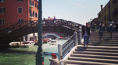 Photo of Bridge Ponte De I Tre Ponti at Venezia, Italy