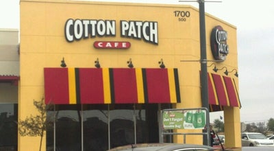 Photo of American Restaurant Cotton Patch at 1700 E Palm Valley Blvd, Round Rock, TX 78664, United States